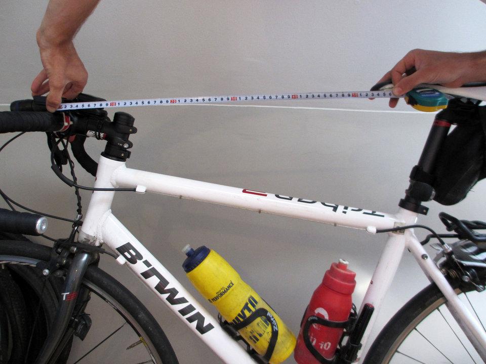 medidas para colocar sillin bicicleta